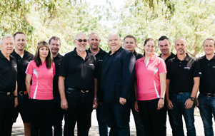 Mack Trucks New Zealand Staff photo